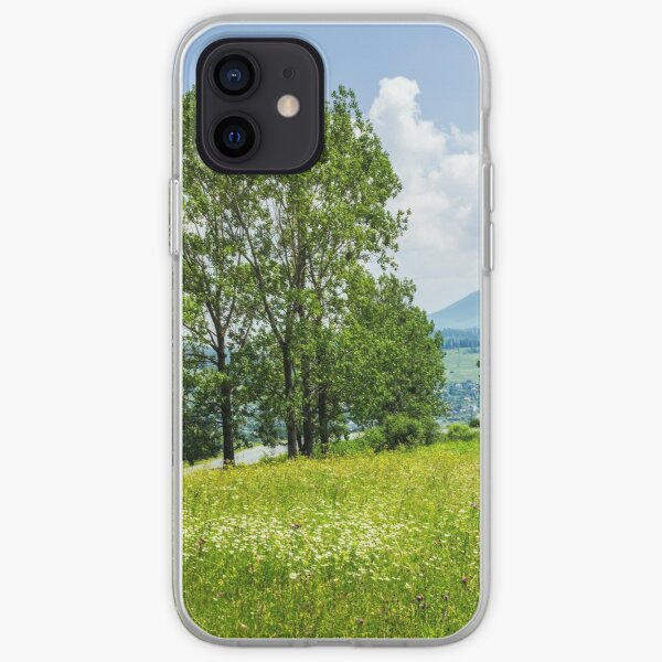 forest glade on hillside iPhone Soft Case