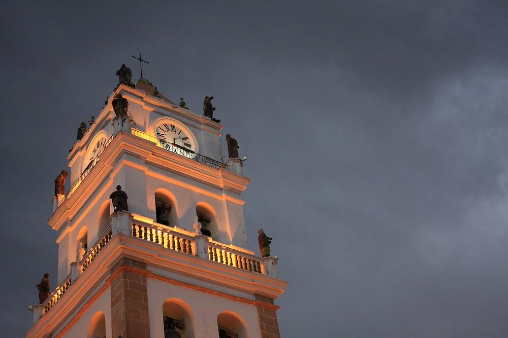 troubled sky, sucre, bolivia by nickaldridge