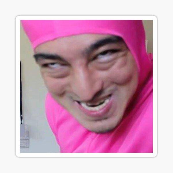 Pink Guy Filthy Frank Meme Sticker