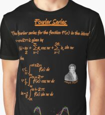 Joseph Fourier and Fourier Series Graphic T-Shirt