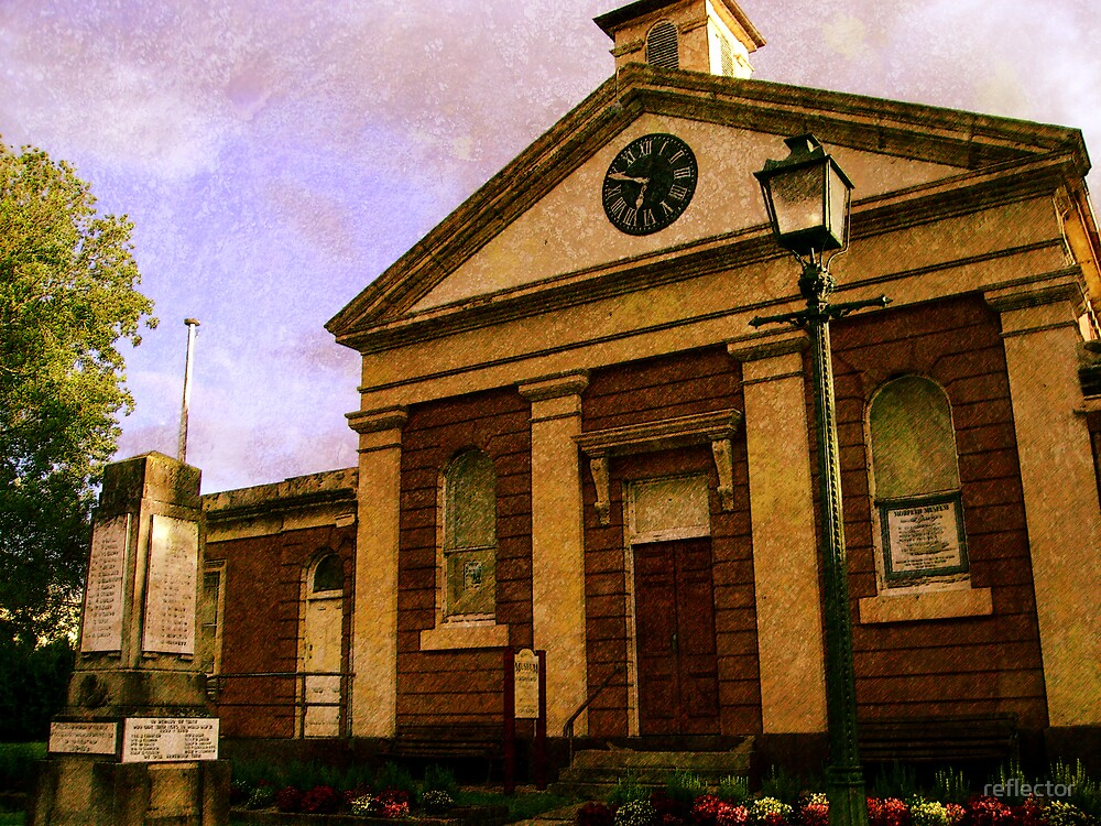Morpeth Court House Museum by reflector