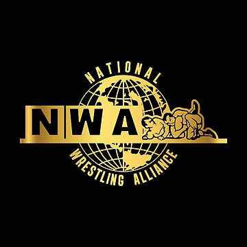 National Wrestling Alliance Logo - GOLD by kagegfx