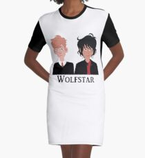 Wolfstar Graphic T-Shirt Dress