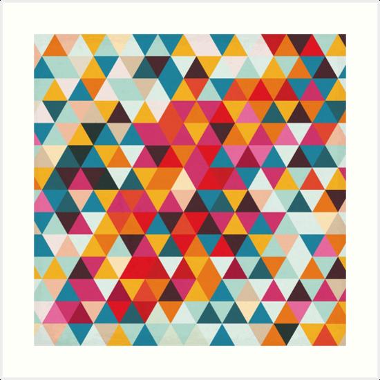 Maniqui Wear Compra Falda De Shantung Con Triángulos De Colores