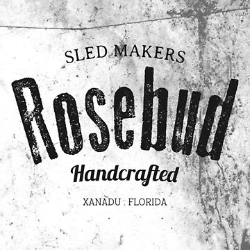 Rosebud company Sled Makers by inkDrop