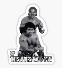 Pegatina WWF Haku y Tama