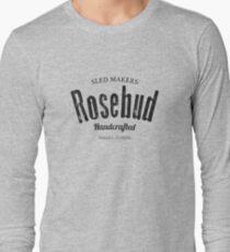 Rosebud company Sled Makers T-Shirt