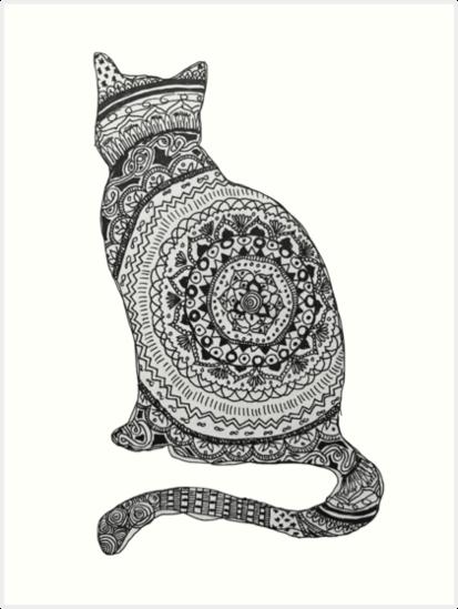 «gato mandala» de MariaSandia