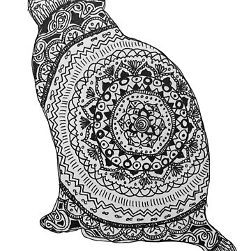 gato mandala de MariaSandia