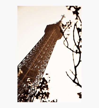 Tower in Sepia Photographic Print