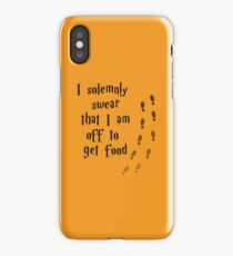 Solemnly Swear iPhone Case