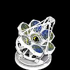 Giant Magellan Telescope With Spin Art by Gus Maier