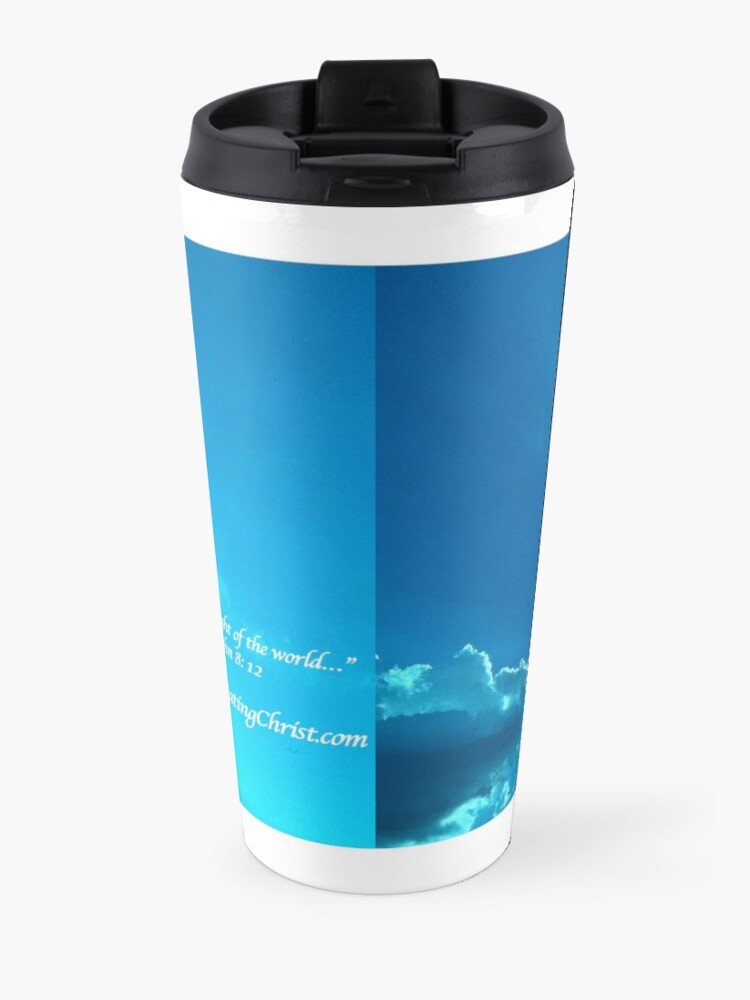 Alternate view of Celebrating Christ Silver Lining - From ccnow.info Travel Mug