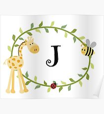 Nursery Letters J Poster