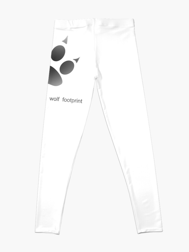 Wolf Footprint Werewolf Leggings By Auregpn Redbubble