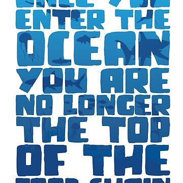 Once You Enter The Ocean by LemonRindDesign