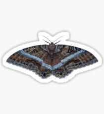 Black Witch Moth (Ascalapha odorata) Sticker