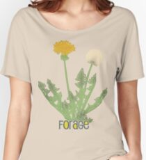 forage! dandelion shirt. Women's Relaxed Fit T-Shirt