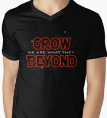We Are What They Grow Beyond Men's V-Neck T-Shirt