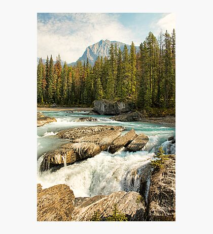 Natural Bridge, Kicking Horse River Photographic Print
