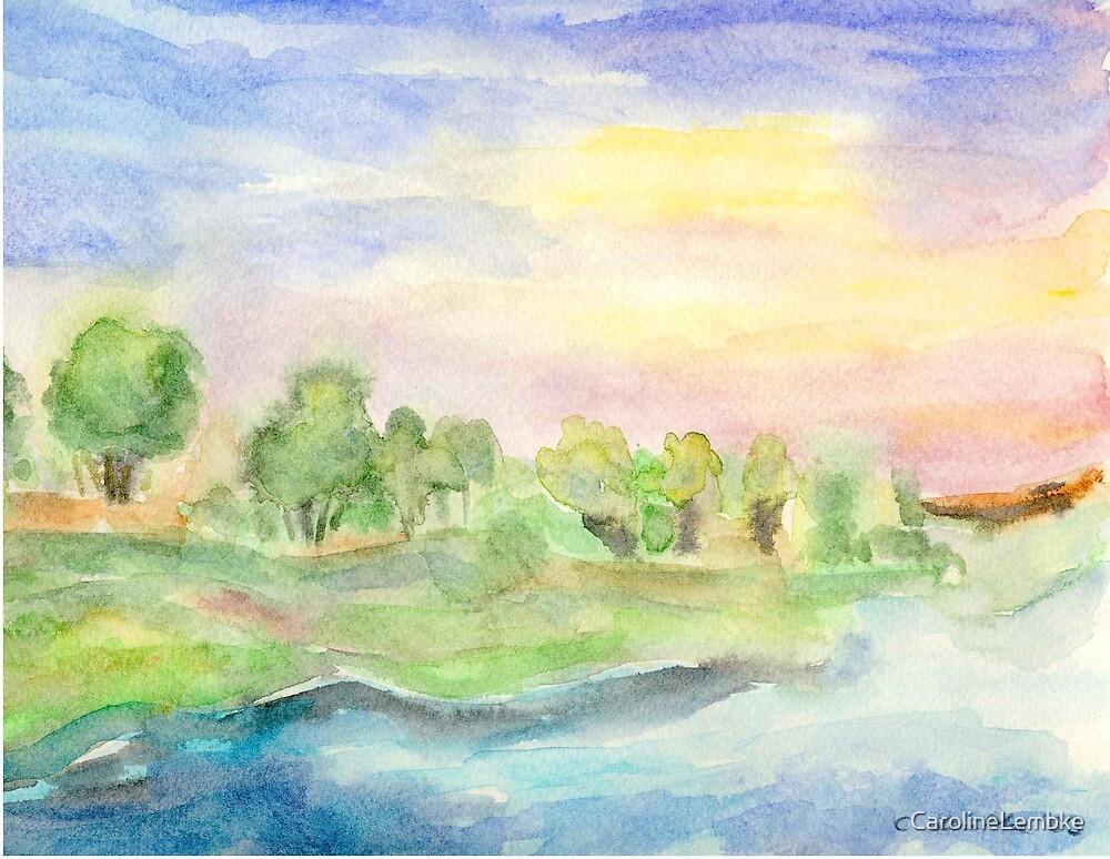 By the Riverbank by CarolineLembke