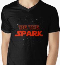 Be The Spark Men's V-Neck T-Shirt