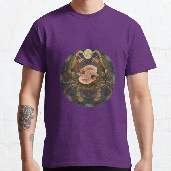 Cancerian mandala Classic T-Shirt