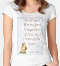 Winnie the Pooh  Women's Fitted Scoop T-Shirt