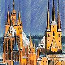 Weihnachten am Dom zu Erfurt by HannaAschenbach