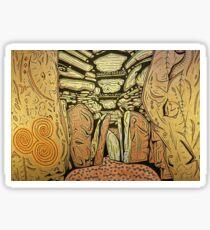 Newgrange Chambered Cairn, Ireland Sticker
