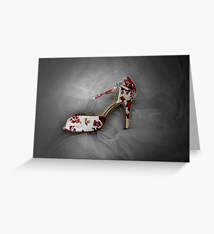 Wedding Shoe Greeting Card