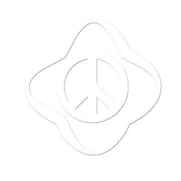 t-shirts with peace and honda logo by oscarmega