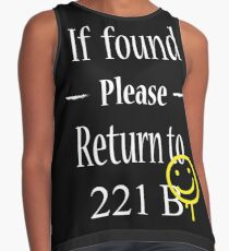 If Found Please Return to 221B Contrast Tank
