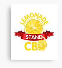 Lemonade Stand CEO  Canvas Print