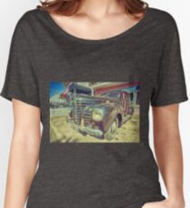 Retro Vintage Chrysler in Color Women's Relaxed Fit T-Shirt