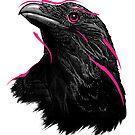 Neon Raven by Jose Ochoa