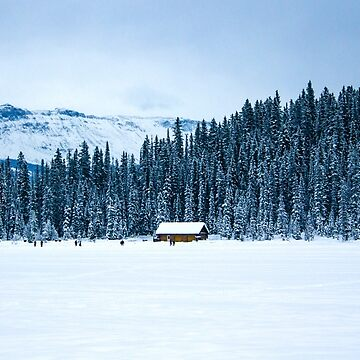 Cabin on Lake Louise by rubenwills