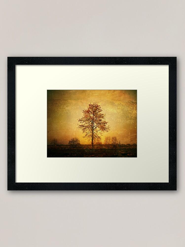 Alternate view of Lonely Tree Framed Art Print