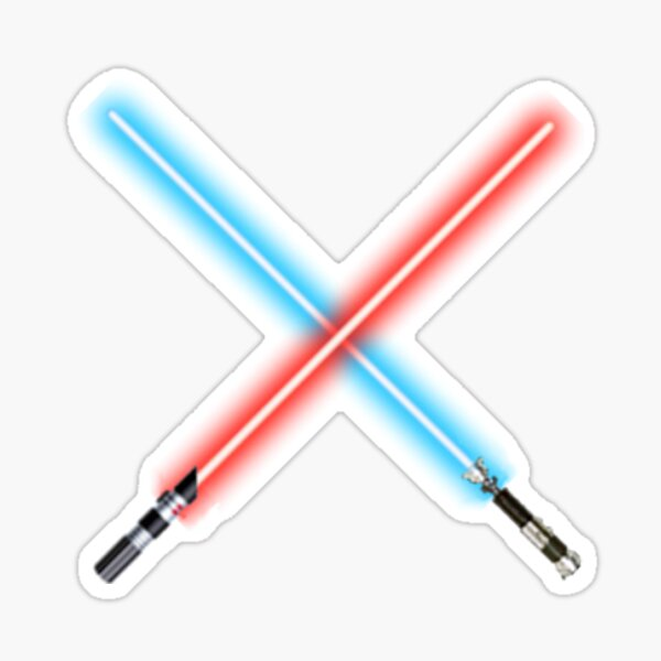 Lightsabers Sticker