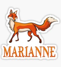 Marianne Fox Sticker