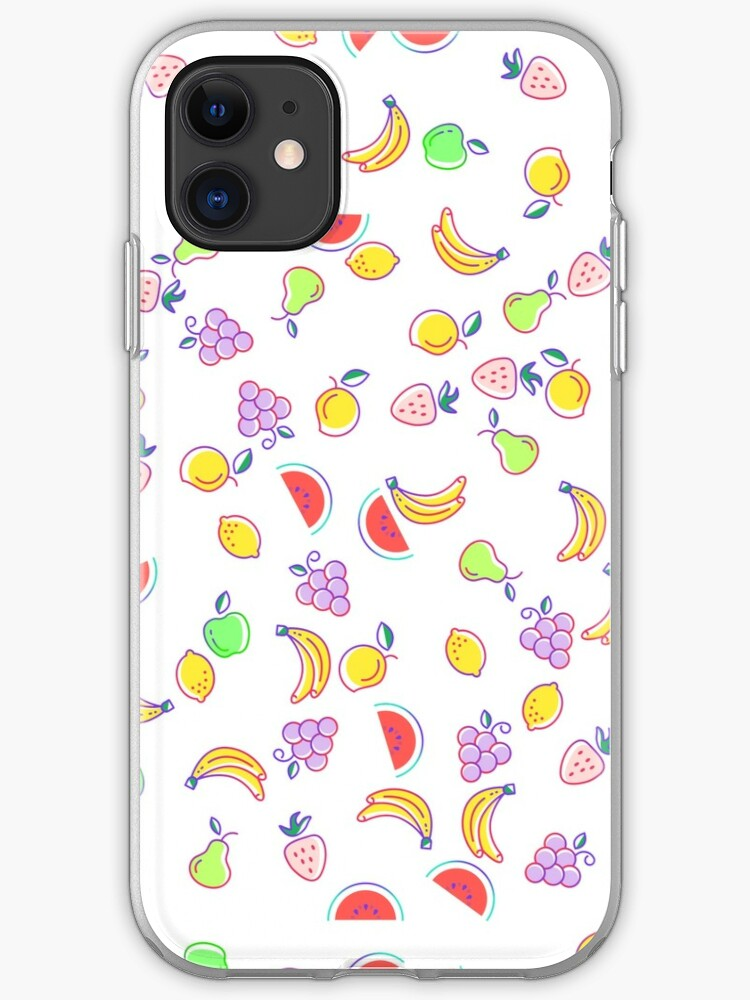 Fruits are friends iphone 11 case
