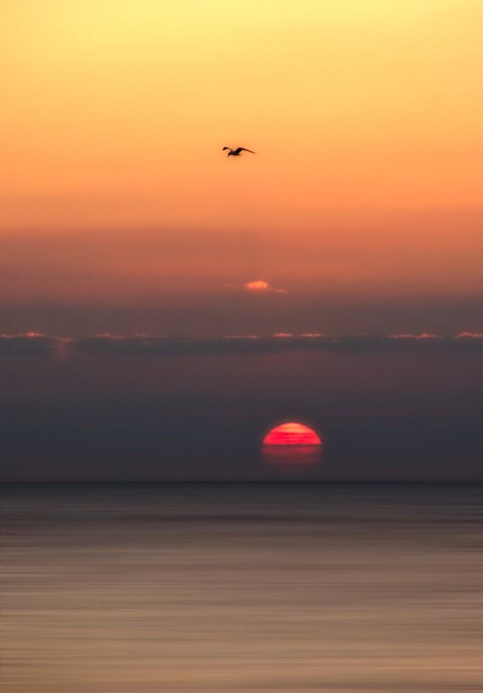 Birling Sunset by JayteaUK