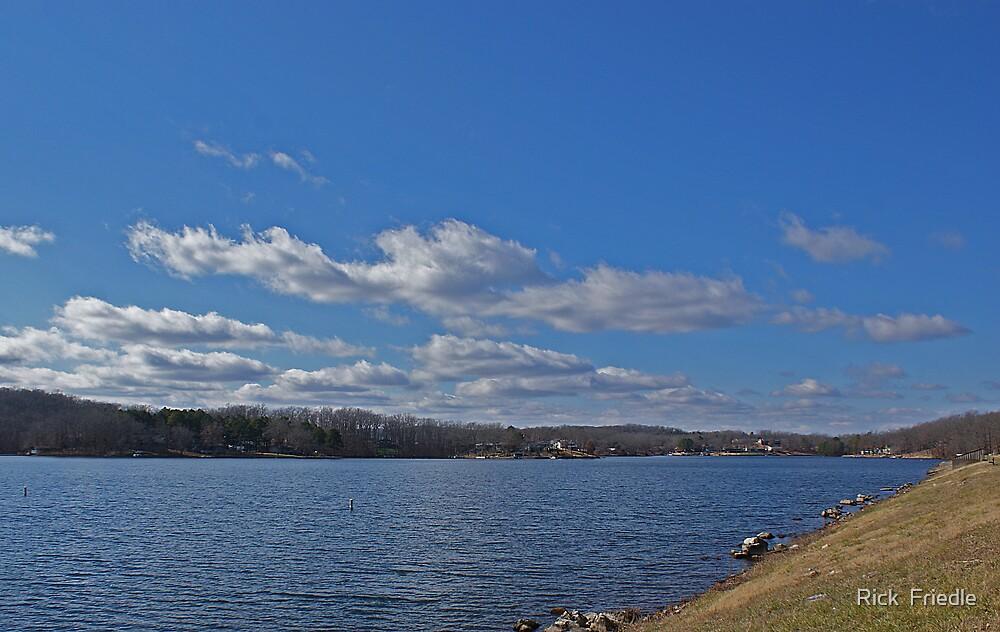 Nice Day At The Lake by Rick  Friedle