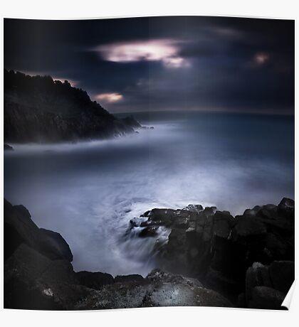 Land Sea Sky IX Poster