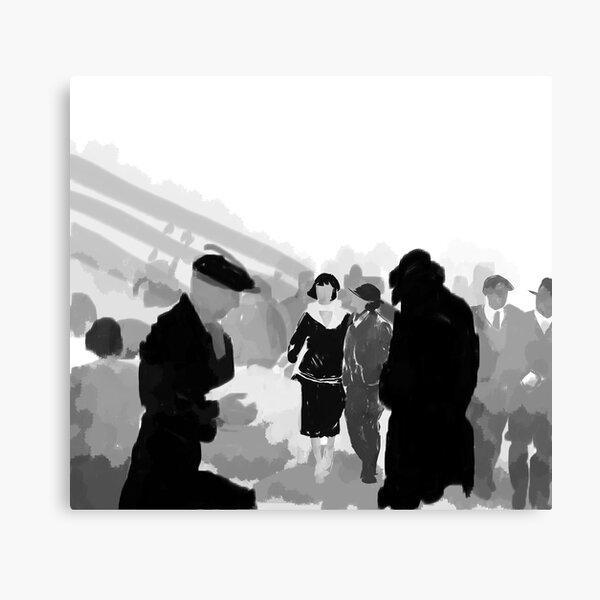 Phryne + Mac Canvas Print