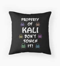Property of Kali Throw Pillow