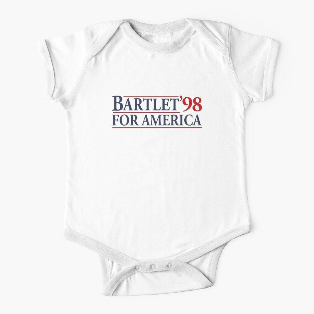 West Wing Bartlet For America 1998  Baby One-Piece