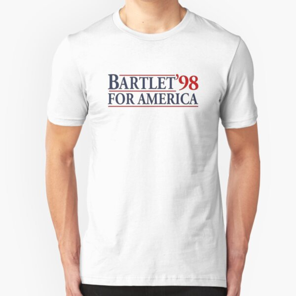 West Wing Bartlet For America 1998  Slim Fit T-Shirt