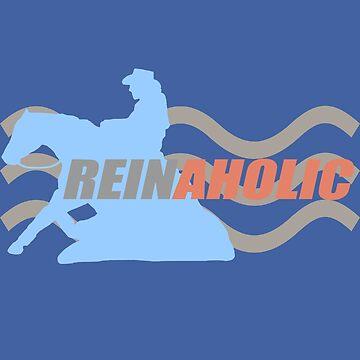 Reinaholic Blue Reiner by Stuffnthingz
