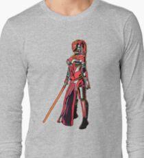 Red Rylothian Art Impression Long Sleeve T-Shirt